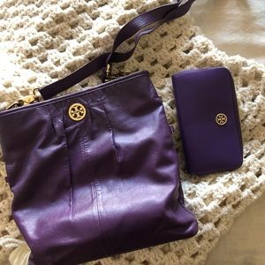 Tory Burch purse with matching wallet